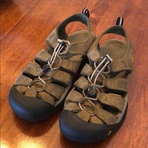 Keens Waterproof sandals.